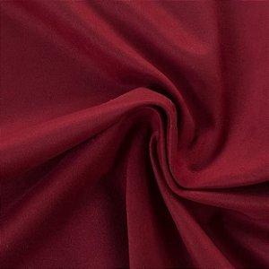 Tecido Suede Grosso Vermelho - Apol 06