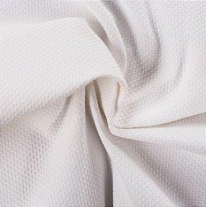Tecido Linho Rustico Branco - La 01