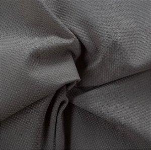 Tecido Linho Rustico Cinza Escuro - La 05