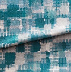Tecido Veludo em tons de verde - Mar 03
