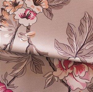 Tecido para Sofá e Estofado Veludo Floral  - MARSE 21