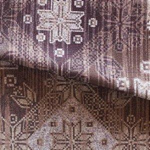 Tecido para Sofá e Estofado Veludo Geométrico Bege - MARSE 46