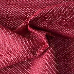 Tecido Para Sofá e Estofado Chenille Versalhes Vermelho -  VES 02