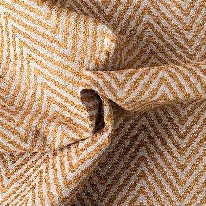Tecido Para Sofá e Estofado Chenille Versalhes Amarelo -  VES 08
