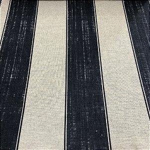 Tecido Para sofá e Estofado Listrado Em Tons de Azul - Egito 52