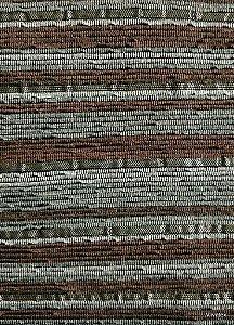 Tecido para sofa chenille Linhas em Cinza e Marrom - Tur23