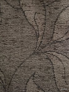 Tecido para sofa chenille Folhas em Argila - Tur 24