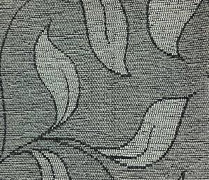 Tecido para sofa chenille Folhas Cinza - Tur 35