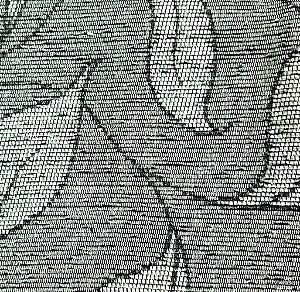 Tecido para sofa chenille Folhas Prata - Tur 36