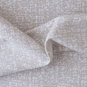 tecido Para Sofá e Estofado Chenille Versalhes Bege e Branco - ves 47
