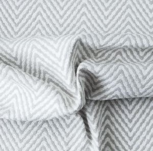 tecido Para Sofá e Estofado Chenille Versalhes Bege e Branco - ves 48