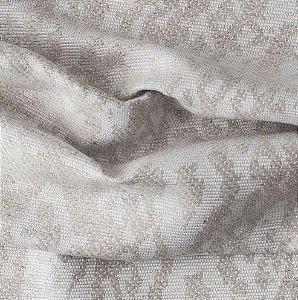 tecido Para Sofá e Estofado Chenille Versalhes Bege  e Marfim - ves 54