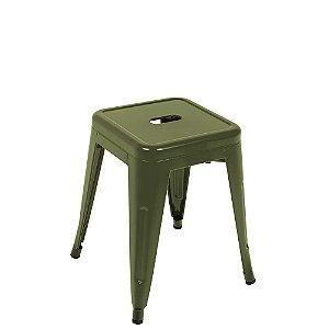 Banqueta Industrial Small Verde Mor-9415