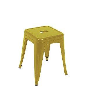 Banqueta Industrial Small Amarela Mor-9421