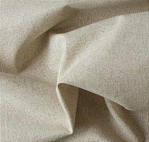 Tecido para Sofá e Estofado Impermeabilizado  Bege Liso - AST-  01