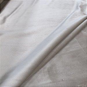 Tecido Veludo para Cortina 1,40 de largura - Marfim