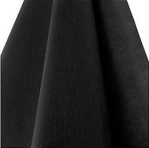 Tecido TNT Preto liso gramatura 150 - Pacote 10 metros