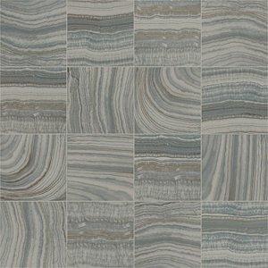 Papel de Parede Vinílico Picasso Estilo Abstrato cinza com marrom  L328-09