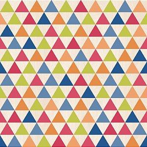 Papel De Parede Vinilico Picasso Geometrizo Colorido  L29710