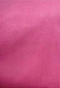 Tecido suede rosa liso