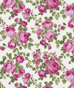 Papel de parede Flores Creme, Rosa e Verde - Urban Home 4703-1