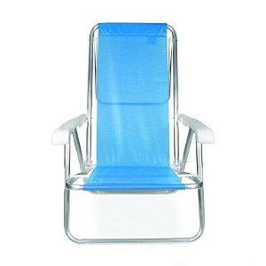 Cadeira Reclinável  8 Posições ALUM - Azul - MOR 2267