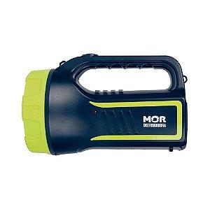 Lanterna Holofote Power Led 265 Lumens Mor Azul Com Verde - 9184