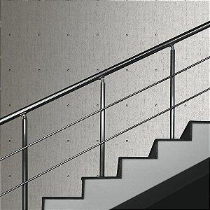 Papel de parede Abstrato Cinza Abstrato com Encaixe Replik J866-09