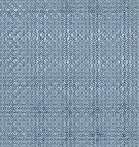 Papel de Parede Garden Estilo Tile Azul e Branco - SZ002744
