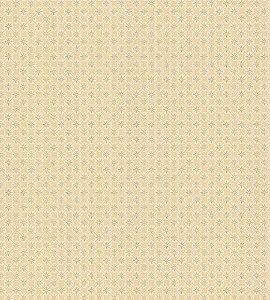 Papel de Parede Garden Estilo Tile Dourado e Branco - SZ002743