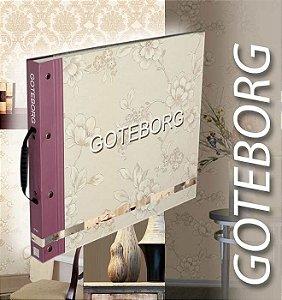 Papel de Parede Goteborg, Brasão Bege Creme - GT28939