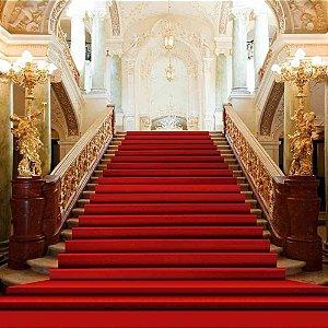 Passadeira Tapete Vermelho Para Casamento, Festas 25 Metros de comprimento