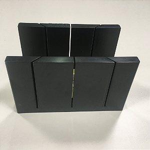 Prancha De Corte Fixa Gart - Roda-teto, Roda-meio, Rodapé