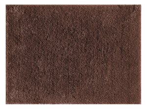 Tapete pelo macio silky 1,50cm x 2,00cm Marrom Viiva