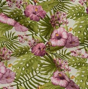 Tecido Acqua Sammer Floral Lilias - Summer 319