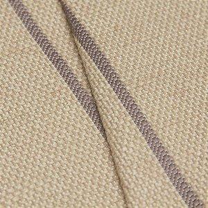 Tecido algodão Jacquard Impermeabilizado com linhas Cinza - Aus 27