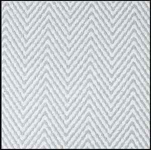 Tecido Chenile Rajado Em Tons de Branco e Bege - Vers 48