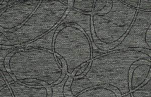Tecido Chenille Abstrato Cinza - Pol 32