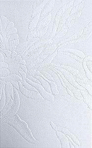 Tecido courvin Floral Branco - Vivace 01