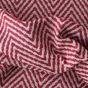 Tecido Para Sofá e Estofado Chenille Versalhes Vermelho -  VES 04