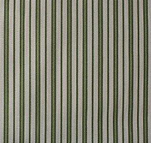 Tecido para Sofá e Estofado Impermeabilizado Verde Musgo Listrado - AST- 11