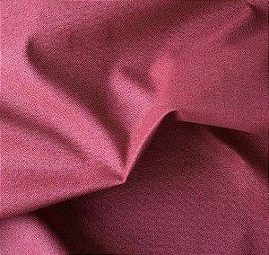 Tecido para Sofá e Estofado Impermeabilizado Vermelho Liso- AST- 04