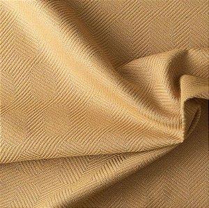 Tecido Para Sofá e Estofado Jacquard Versalhes Amarelo Ouro -  VES 09