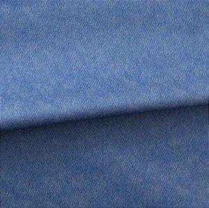 Tecido para Sofá e Estofado Veludo Azul - MARSE 13