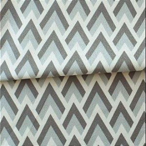 Tecido para Sofá e Estofado Veludo Geométrico - MARSE 25