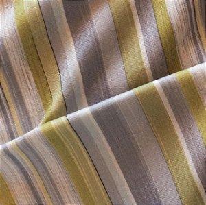 Tecido para Sofá e Estofado Veludo Geométrico Verde e Azul - MARSE 42