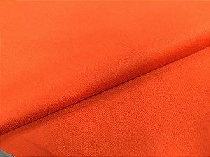 Tecido Veludo Laranja Liso para móveis, sofás, poltronas e estofamentos 1 metro linear