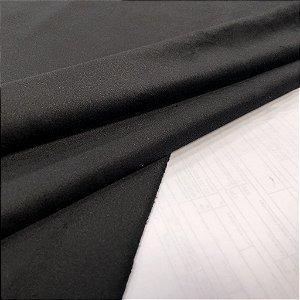 Tecido Veludo para Cortina 1,40 de largura - Preto