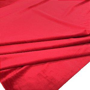 Tecido Veludo para Cortina 1,40 de largura - Vermelho