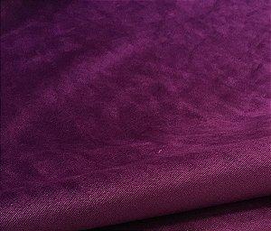 Tecido Veludo UltraConfort Liso Roxo
